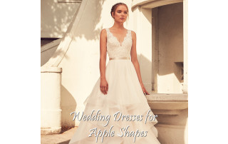 Buying A Wedding Gown For Your Body Shape: Apple