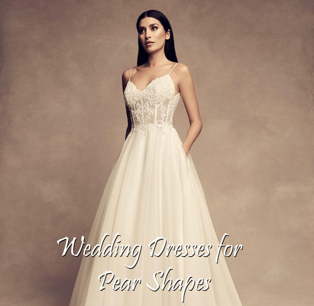 Wedding Gowns For Petite Figures: Buying A Wedding Gown For Your Body Shape: Pear