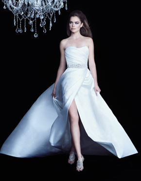 Buying A Wedding Gown For Your Body Shape: Apple | Paloma Blanca
