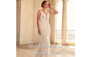 Buying A Wedding Gown For Your Body Shape: Hourglass