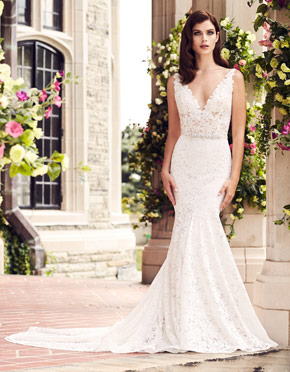 Buying A Wedding Gown For Your Body Shape: Banana Style 4746