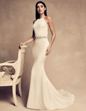 Buying A Wedding Gown For Your Body Shape: Banana Style 4809