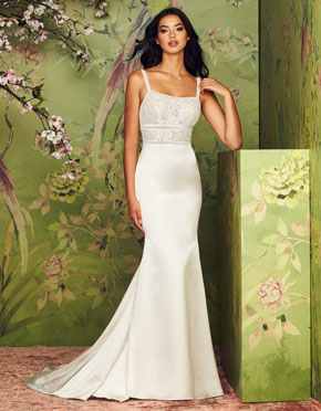 Buying A Wedding Gown For Your Body Shape: Banana Style 4887