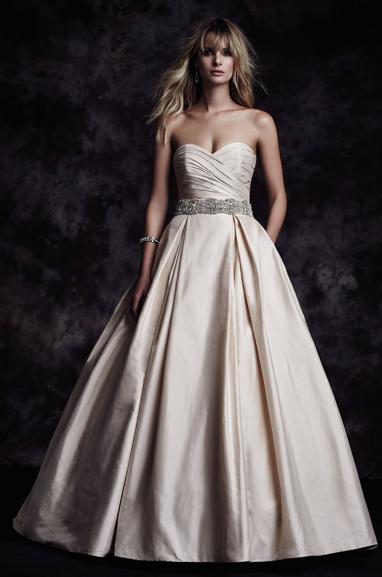 Sweetheart Ball Gown Wedding Dress - Style #4606 | Paloma Blanca
