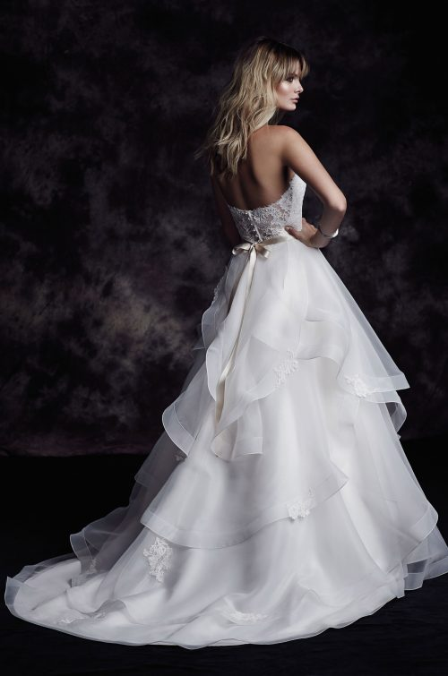 Organza Skirt Wedding Dress - Style #4610 | Paloma Blanca