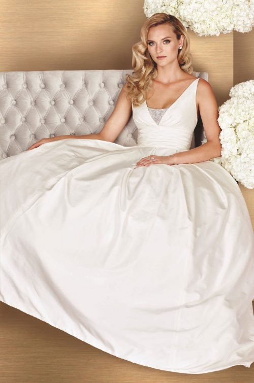 Full Skirt Wedding Dress - Style #4661 | Paloma Blanca