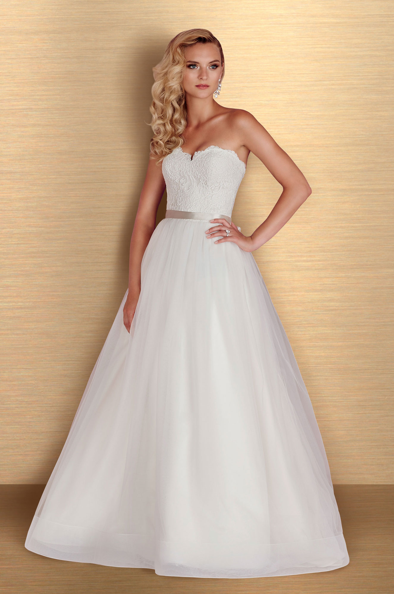 Skirt Ball Gown Wedding Dress - Style #4668 | Paloma Blanca