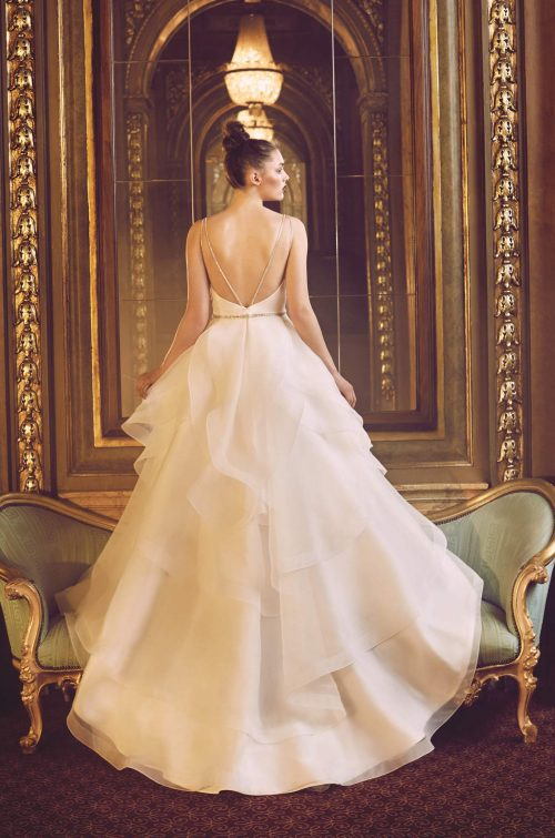 Layered Organza Wedding Dress - Style #4715 | Paloma Blanca