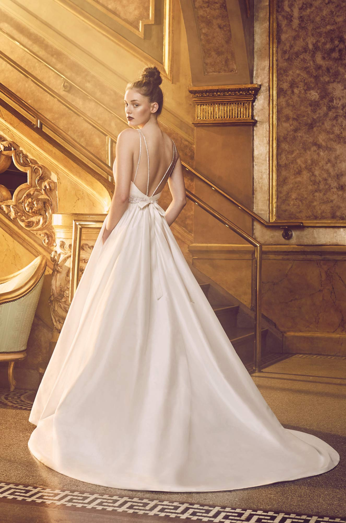 Full Silk Wedding Dress - Style #4719 | Paloma Blanca