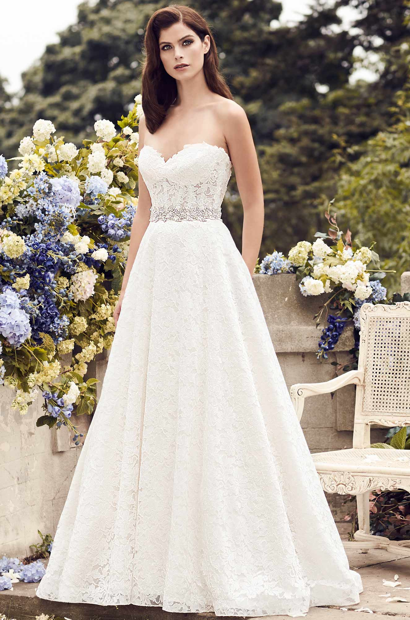 Lace Wedding Dress - Style #4738 | Paloma Blanca