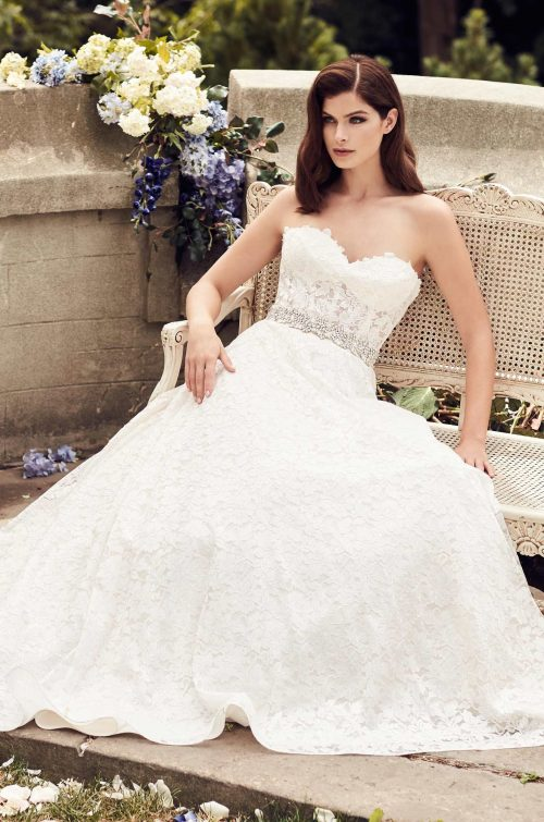 Full Lace Wedding Dress - Style #4738 | Paloma Blanca