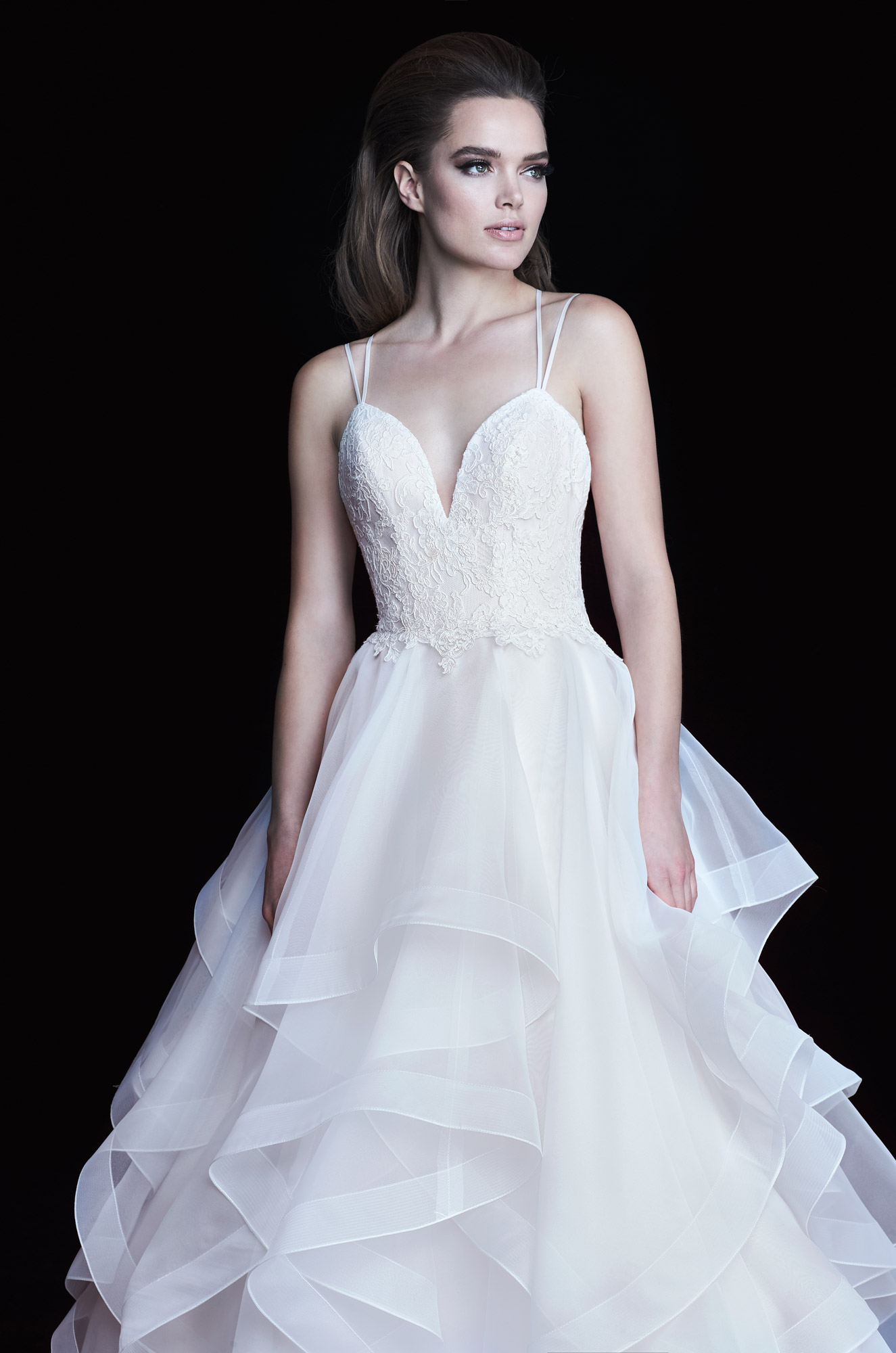 Multi-Layered Tiers Wedding Dress - Style #4758 | Paloma Blanca