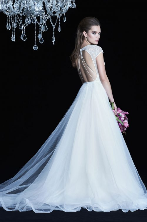 Cap Sleeve Wedding Dress - Style #4762 | Paloma Blanca