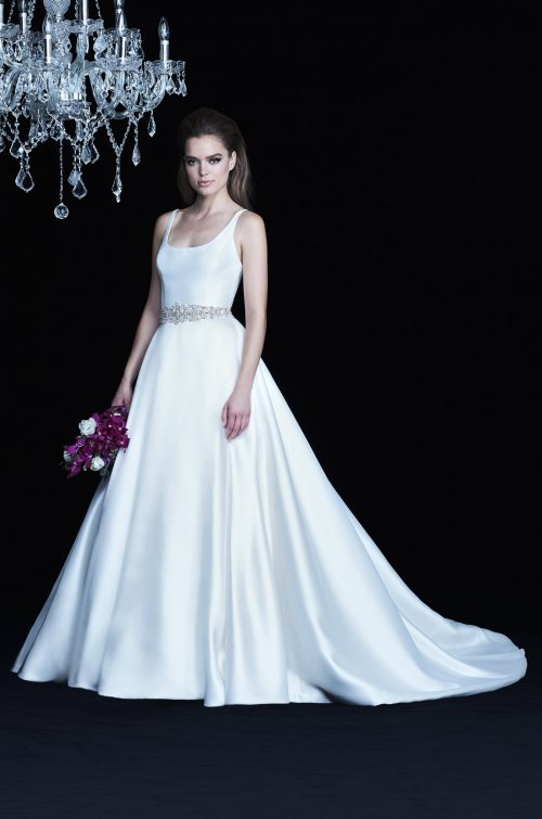 Satin Twill Wedding Dress - Style #4764 | Paloma Blanca