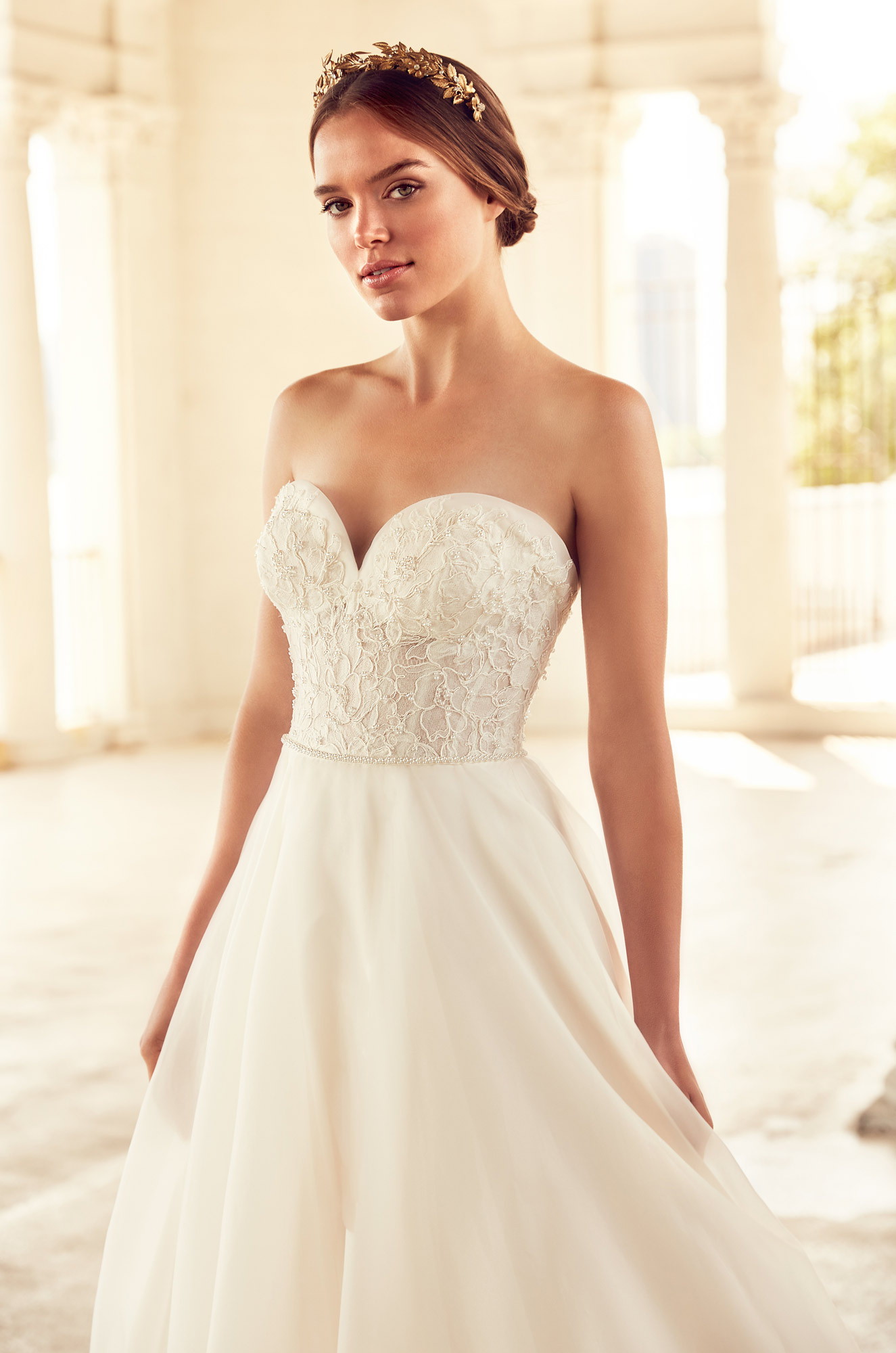Regal Ball Gown Wedding Dress - Style #4785 | Paloma Blanca