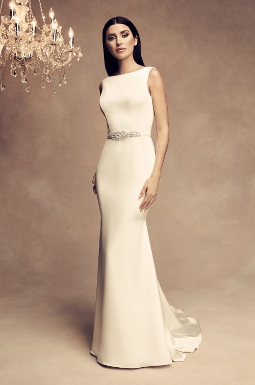 Glamorous Beaded Wedding Dress - Style #4801 | Paloma Blanca