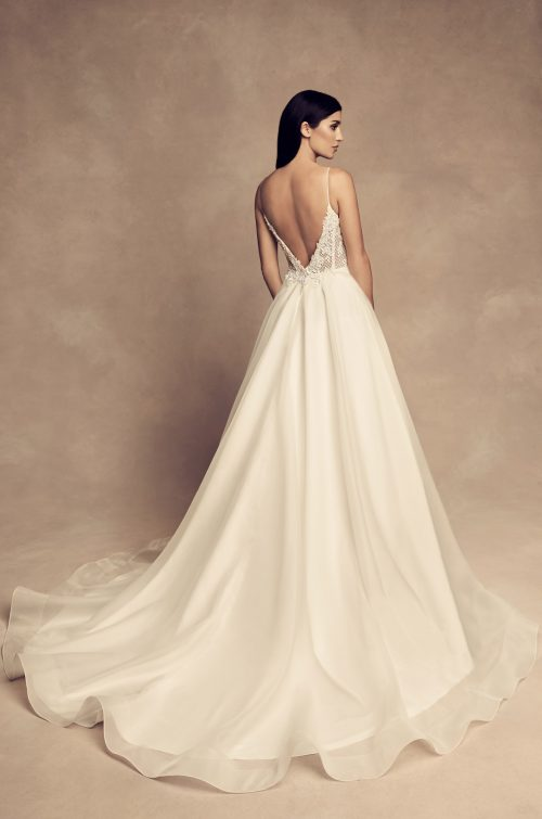 Graceful Ball Gown Wedding Dress - Style #4802 | Paloma Blanca