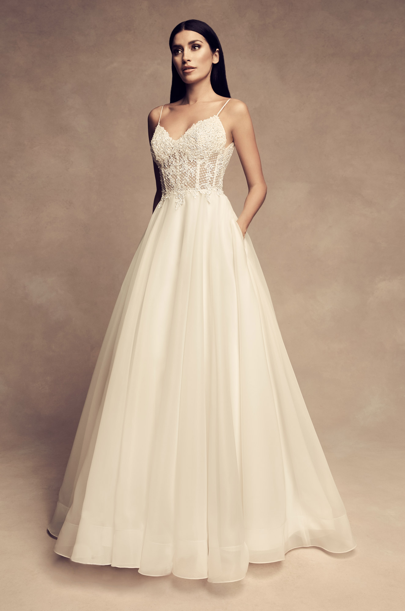 Graceful Ball Gown Wedding Dress – Style #4802 | Paloma Blanca