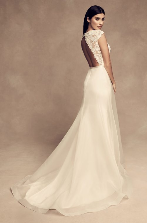 Overlay Skirt Wedding Dress - Style #4810 | Paloma Blanca