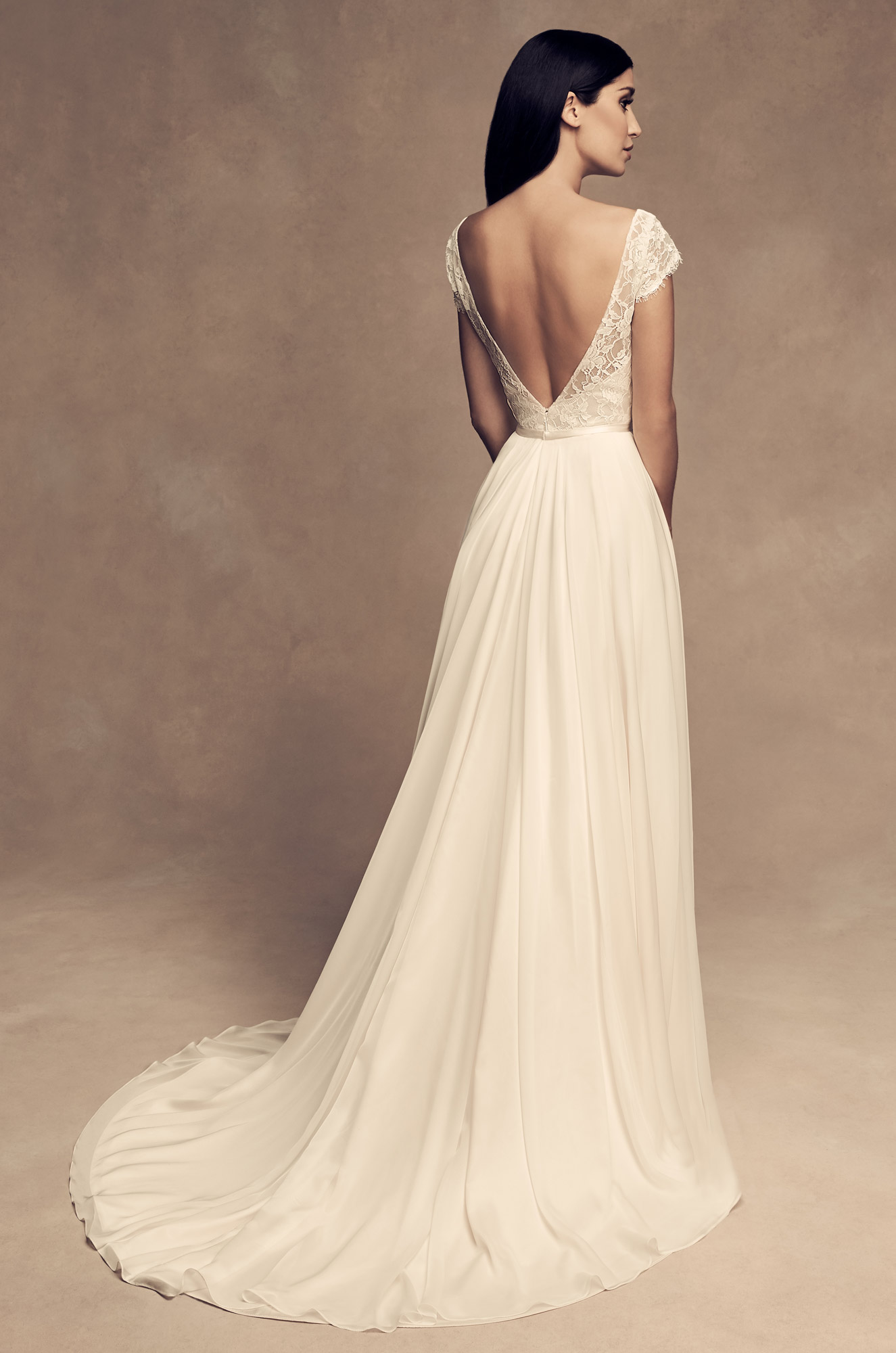 Flowing Organza Wedding Dress - Style #4816 | Paloma Blanca