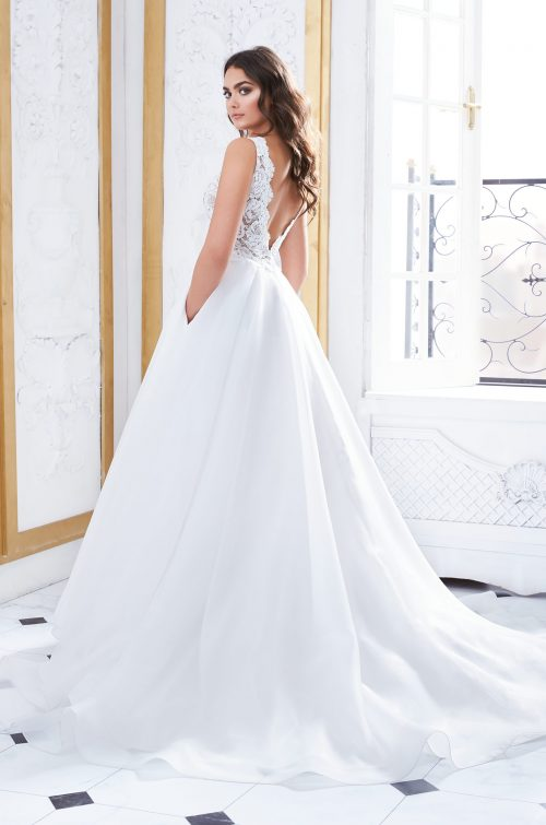 Gorgeous Wedding Dress With Pockets - Style #4852 | Paloma Blanca