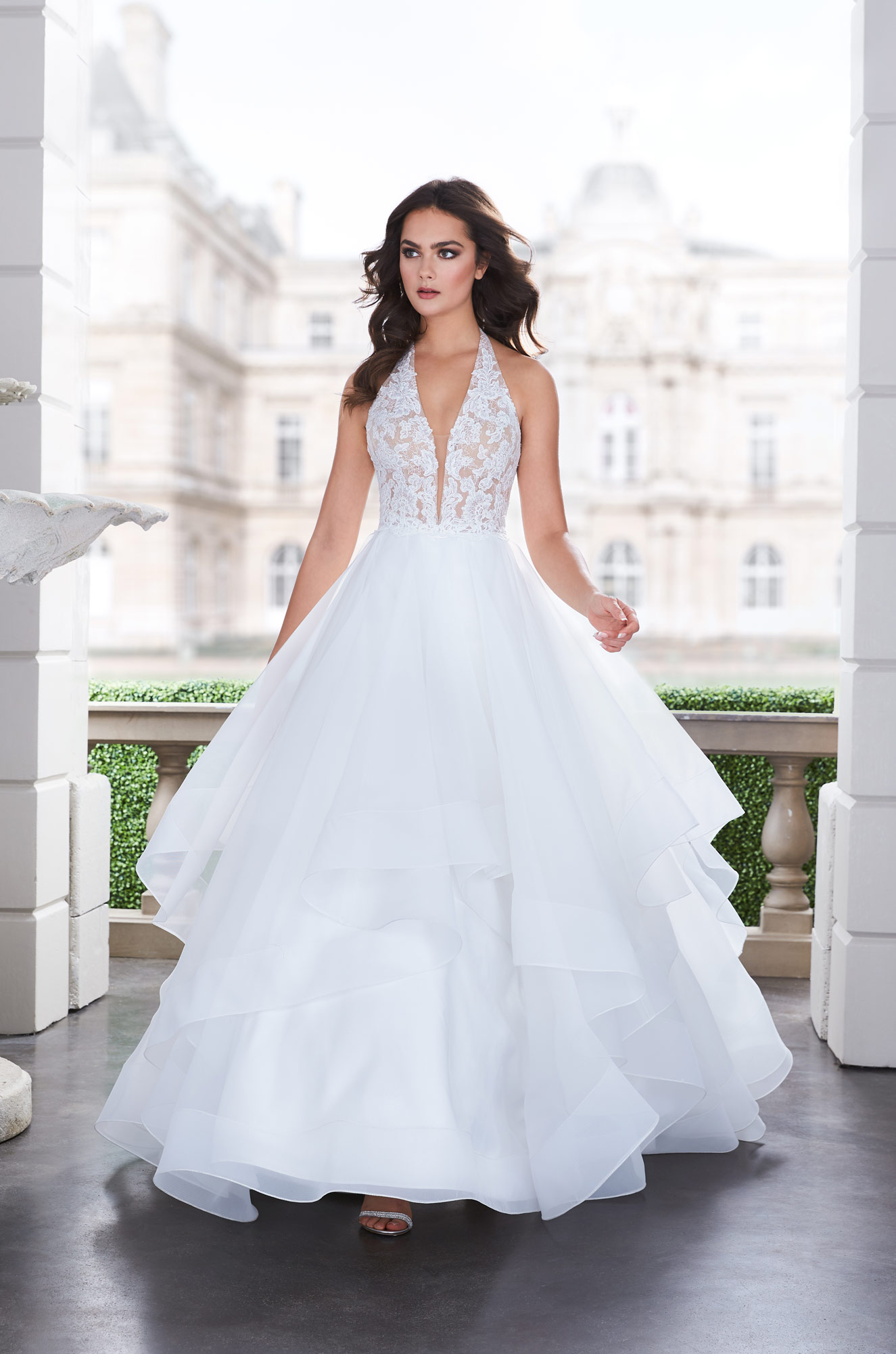 Lavish Ball Gown Wedding Dress – Style #4855 | Paloma Blanca