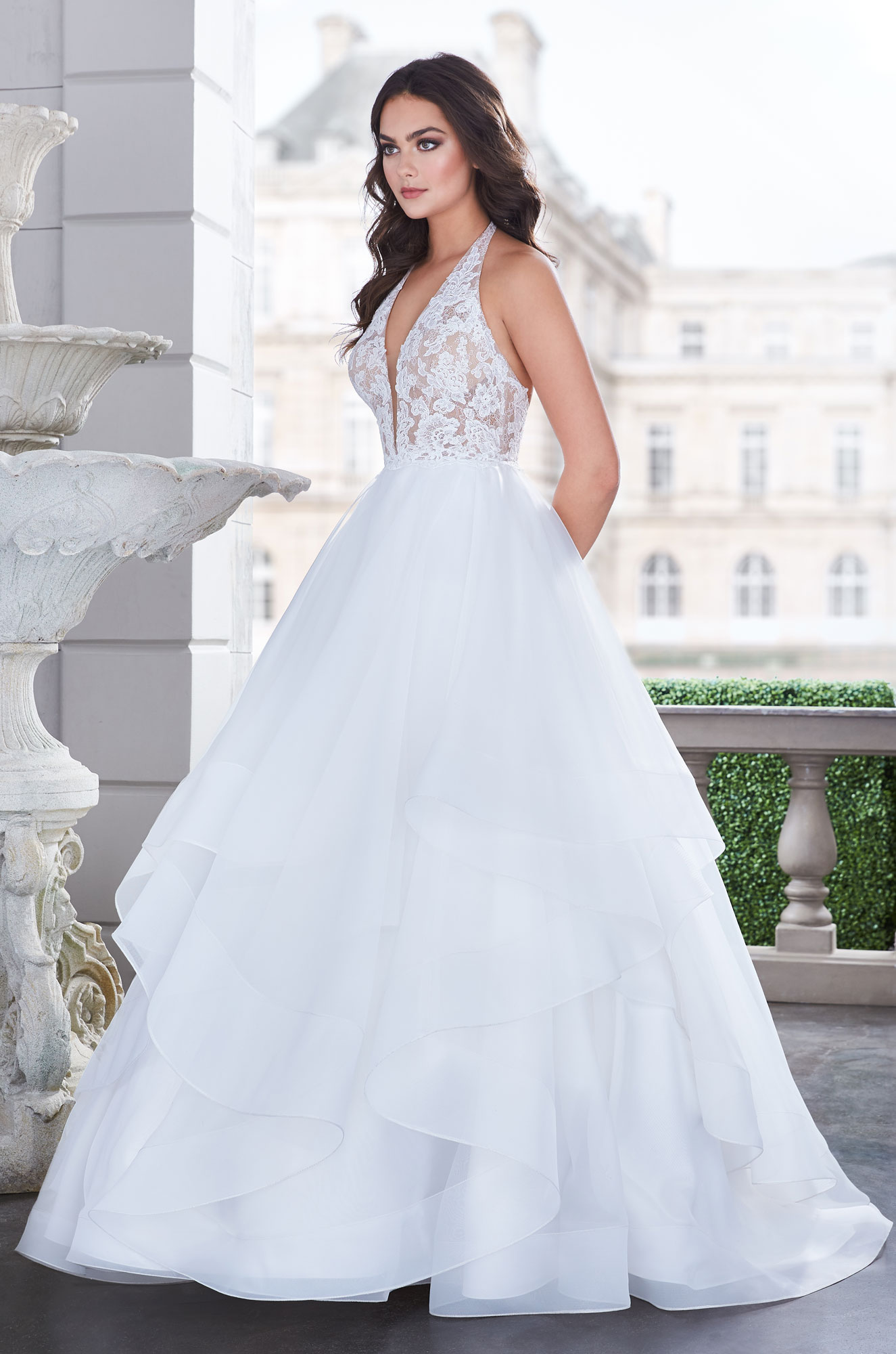 Lavish Ball Gown Wedding Dress - Style #4855 | Paloma Blanca