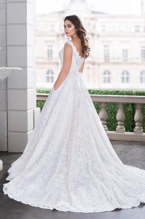 6a1017182ef Princess Lace Wedding Dress - Style  4861