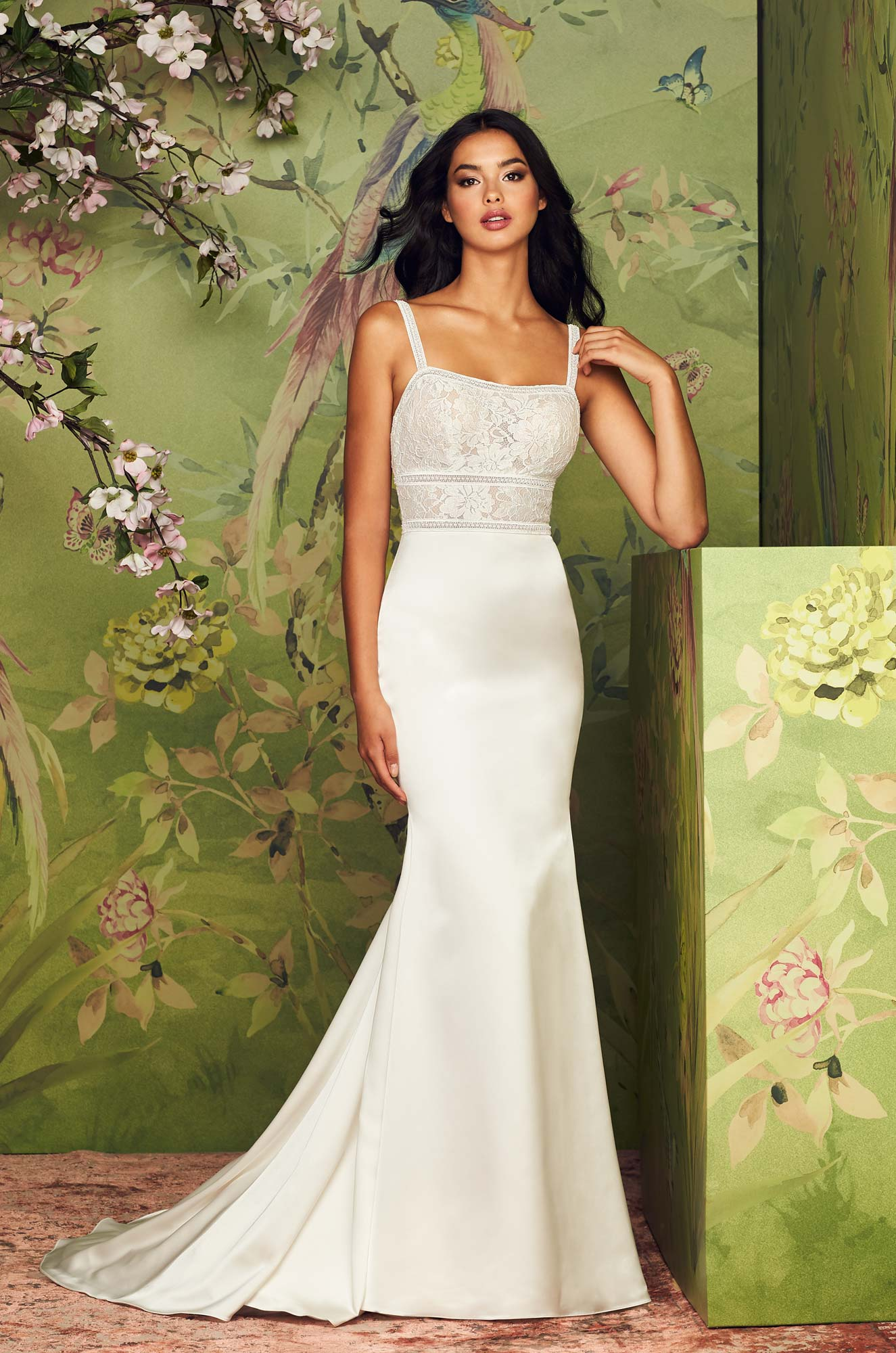 Romantic Figure-Defining Wedding Dress - Style #4887 | Paloma Blanca