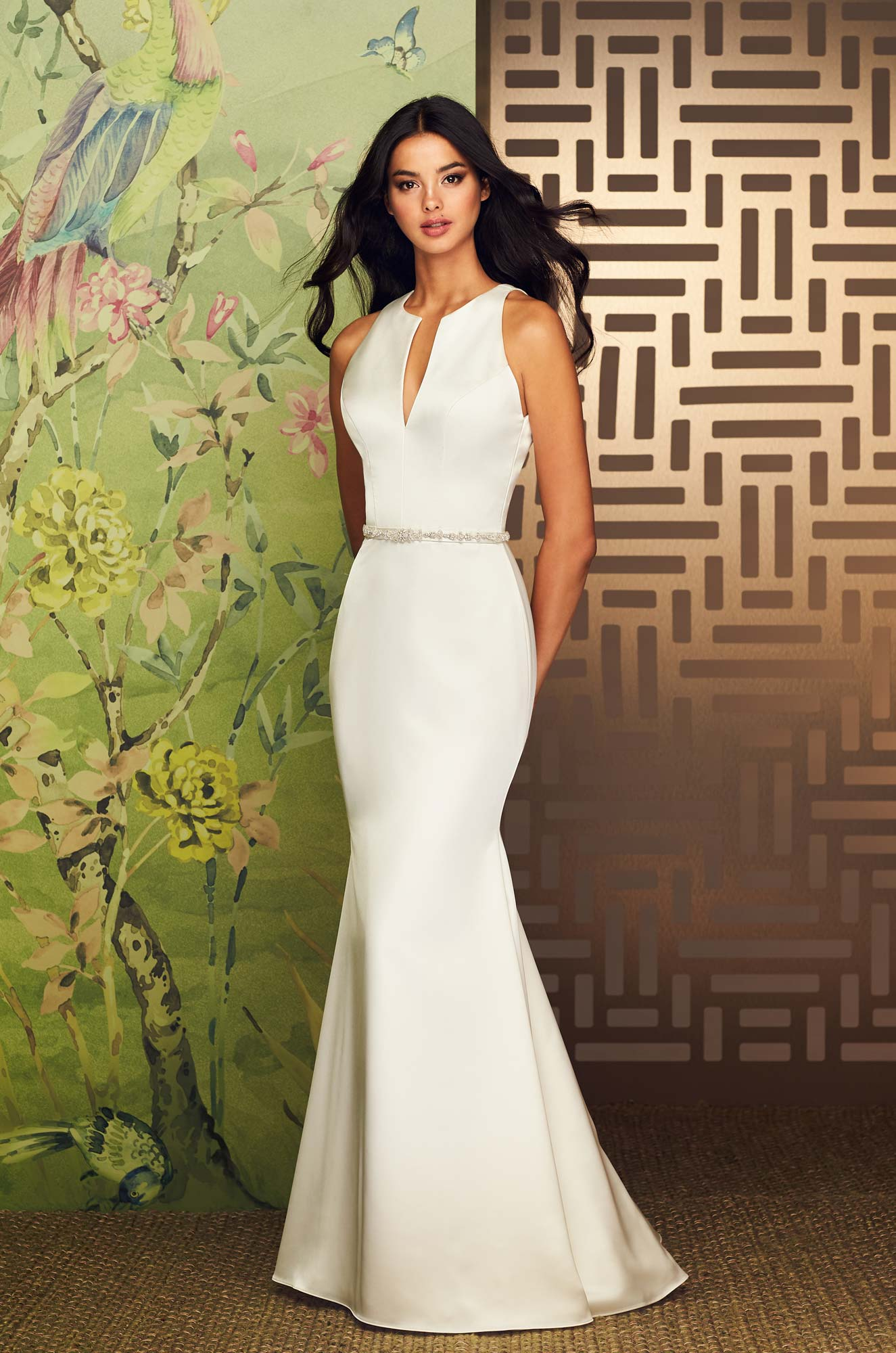 Sophisticated Two Piece Wedding Dress - Style #4889 | Paloma Blanca