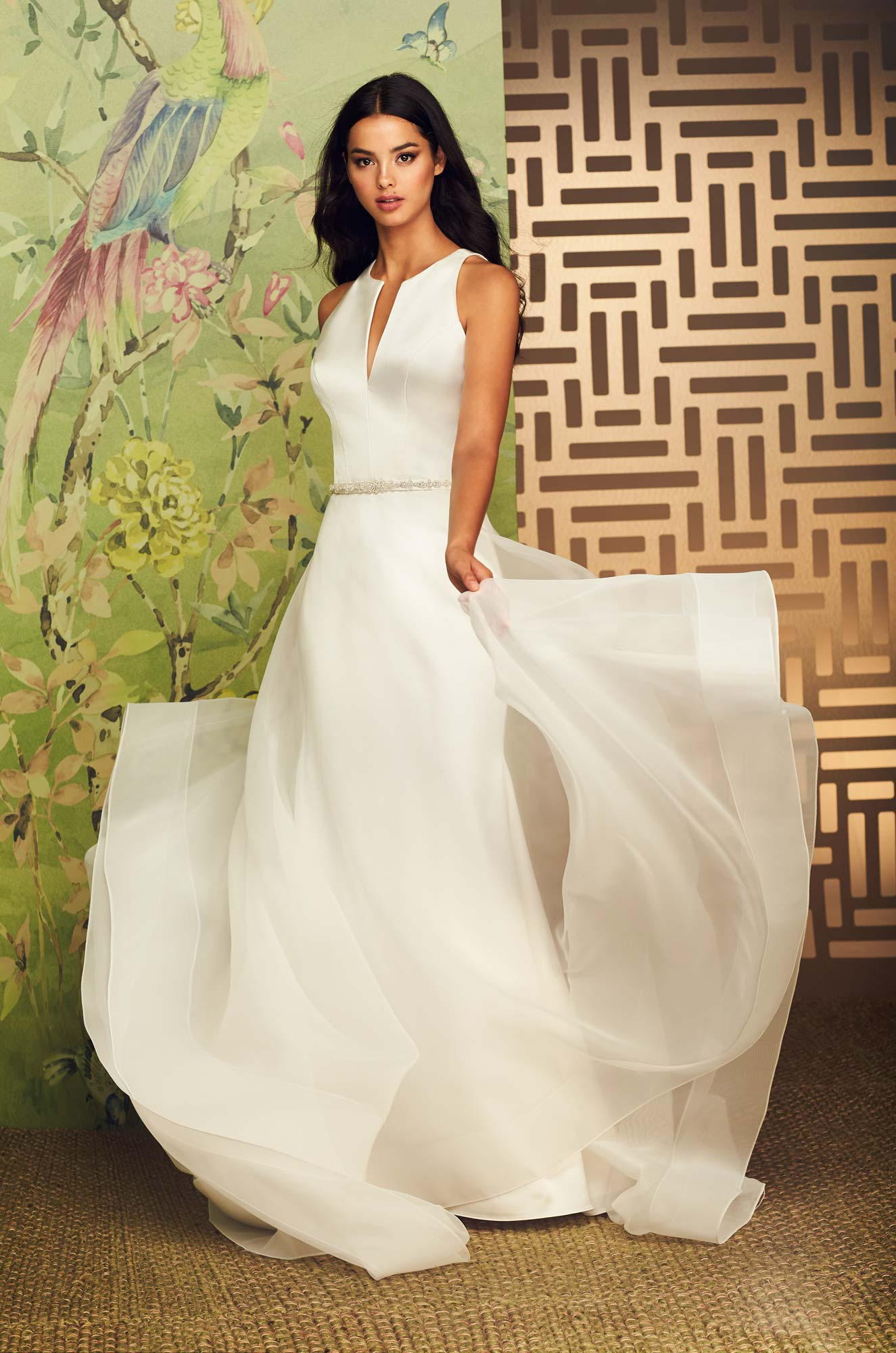 Sophisticated Two Piece Wedding Dress – Style #4889 | Paloma Blanca