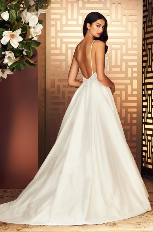 Enchanting Full Skirt Wedding Dress - Style #4891 | Paloma Blanca