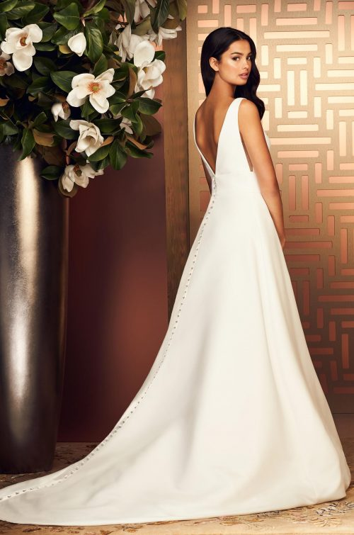 Stylish A-line Wedding Dress - Style #4892 | Paloma Blanca