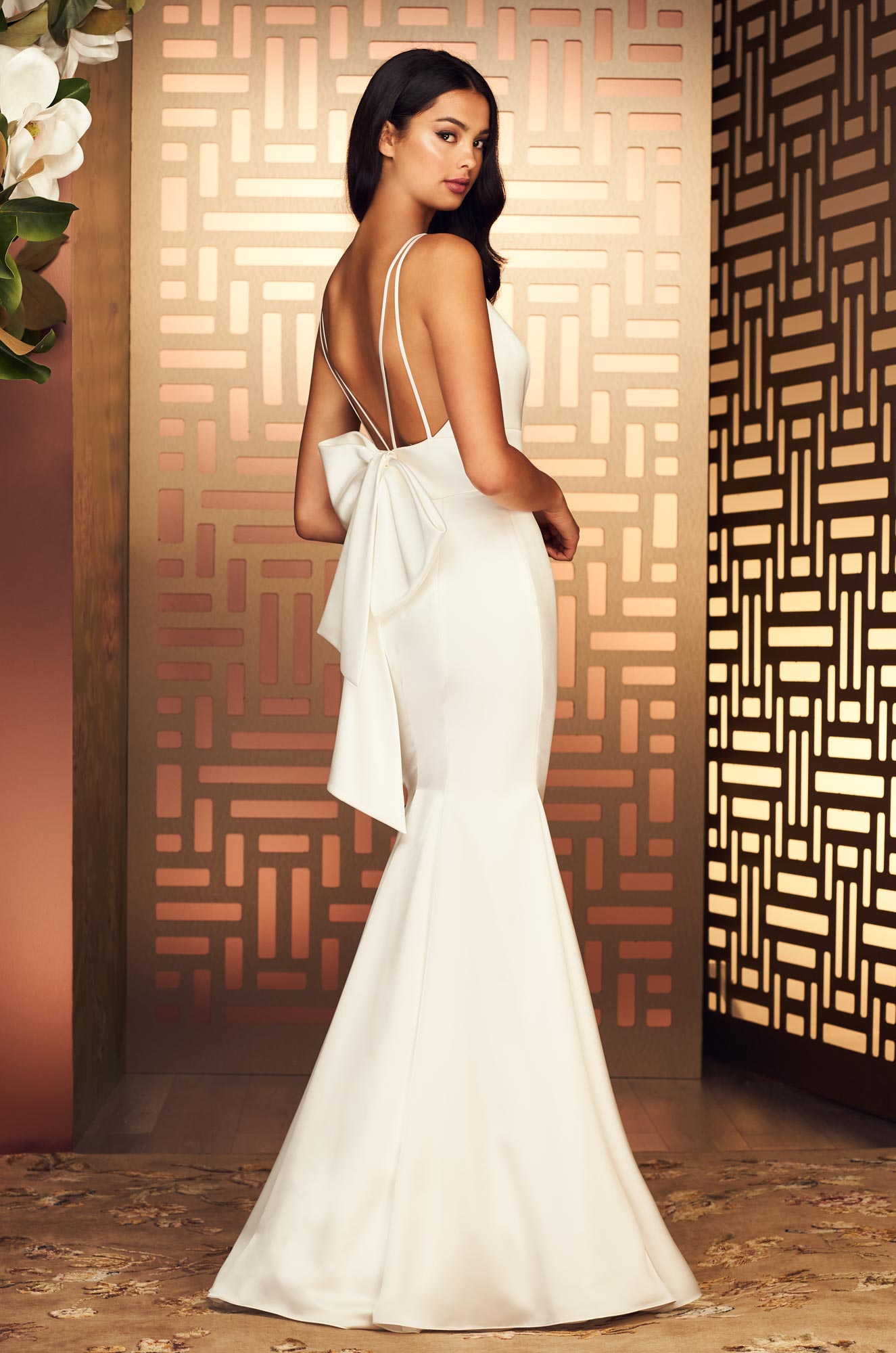 Refined Satin Wedding Dress - Style #4894 | Paloma Blanca