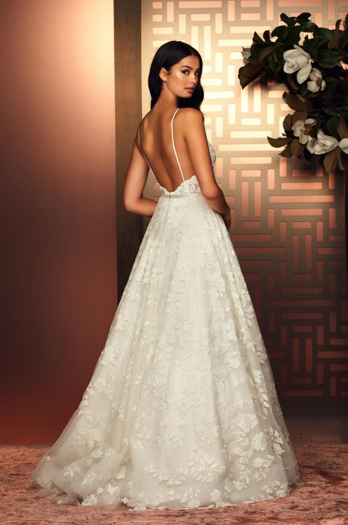 Enchanting Lace Wedding Dress - Style #4895 | Paloma Blanca
