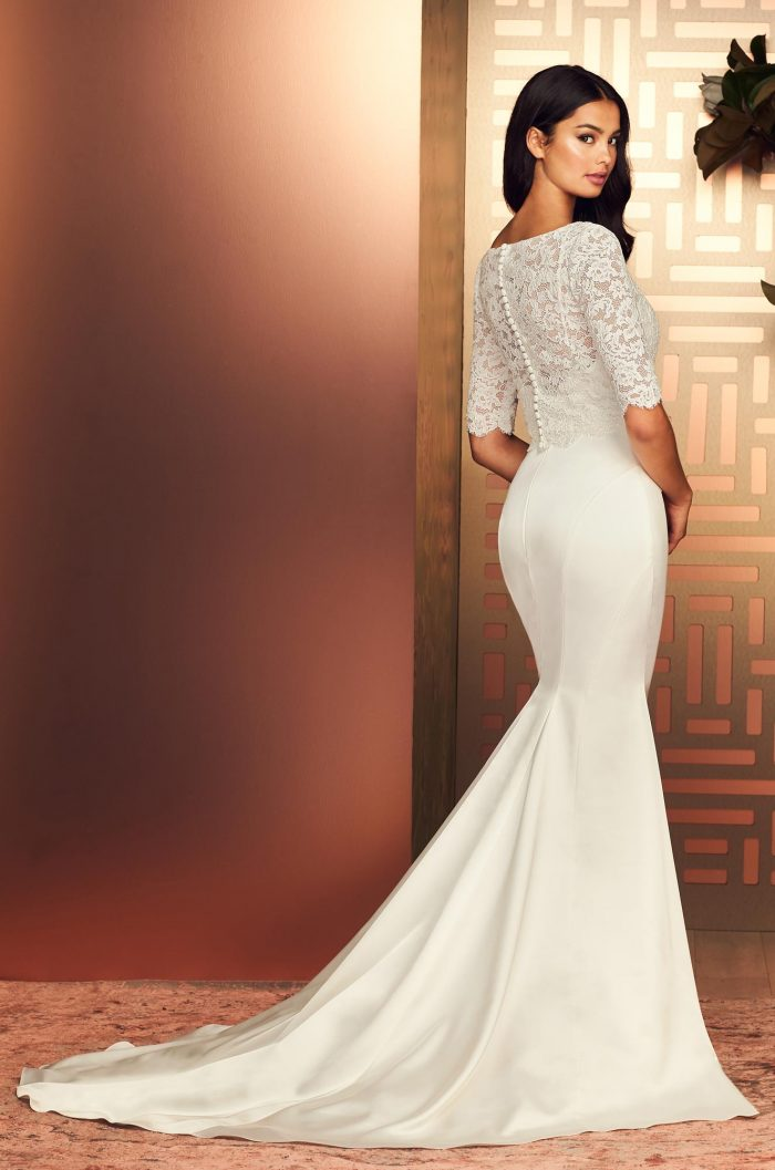 Sensational Two Piece Wedding Dress - Style #4897 | Paloma Blanca