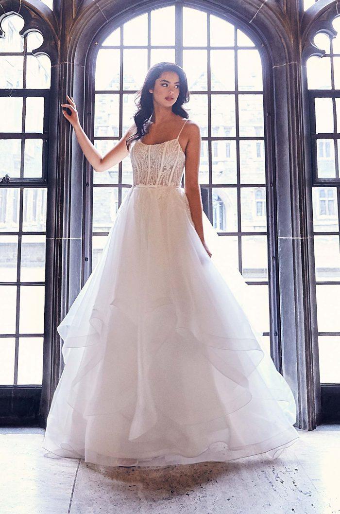 Cascading Lace Wedding Dress - Style #4911 | Paloma Blanca