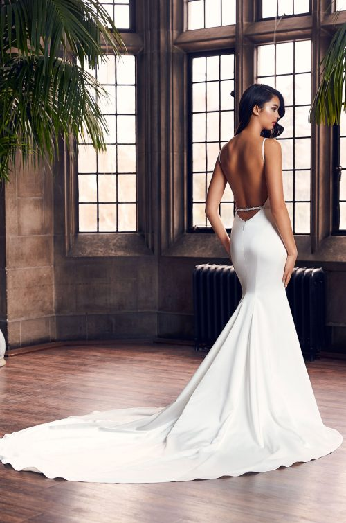 Timeless Satin Wedding Dress - Style #4914 | Paloma Blanca