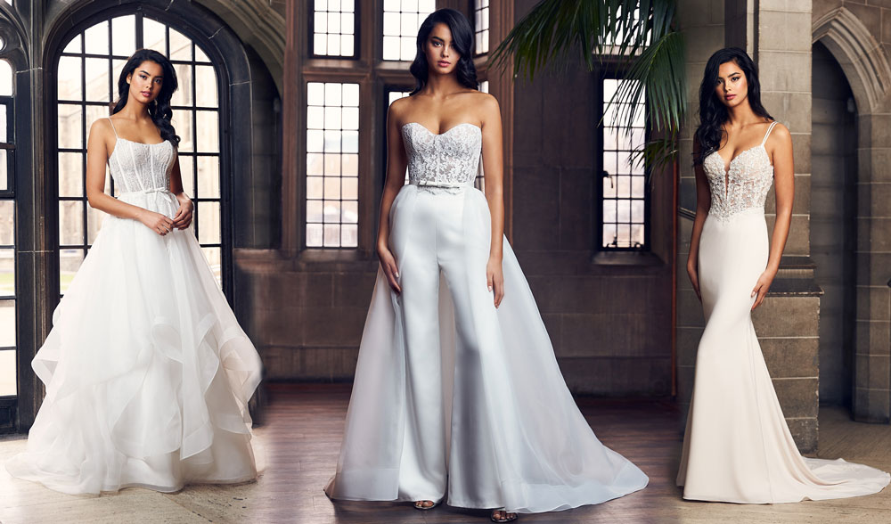 Paloma Blanca Fall 2020 Collection Launch Header