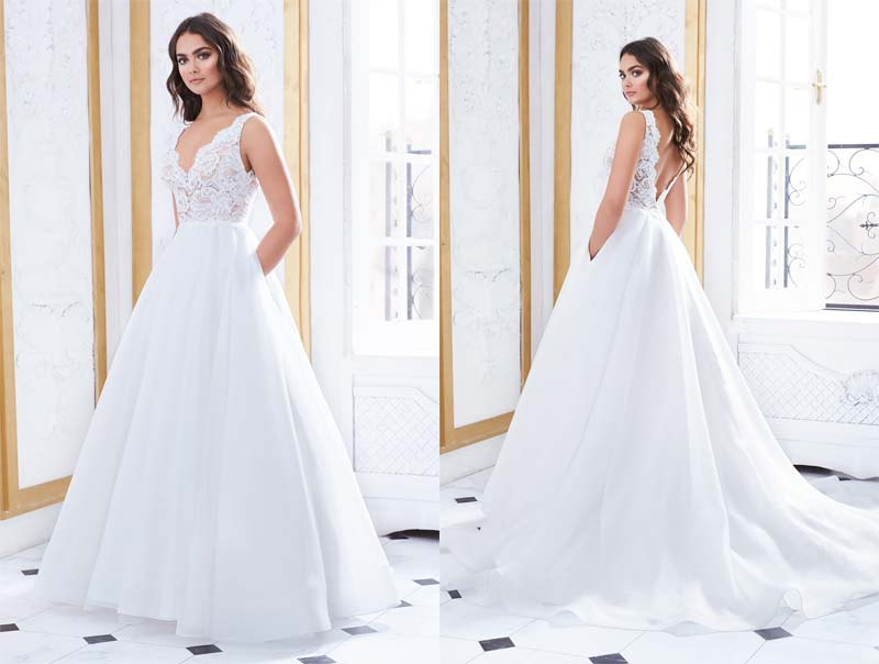Paloma Blanca Featured Gown Style 4852