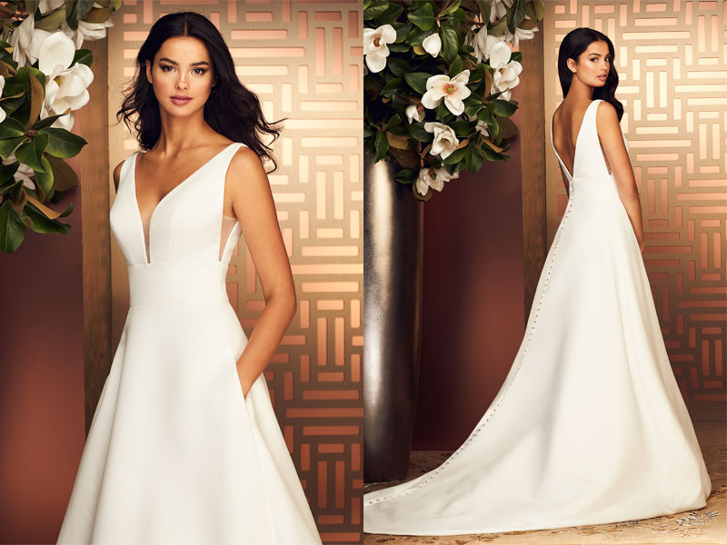 Paloma Blanca Featured Gown Style 4892
