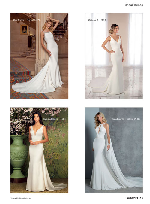 North West Brides Magazine Summer 2020 Bridal Trends Feature Paloma Blanca Style 4884