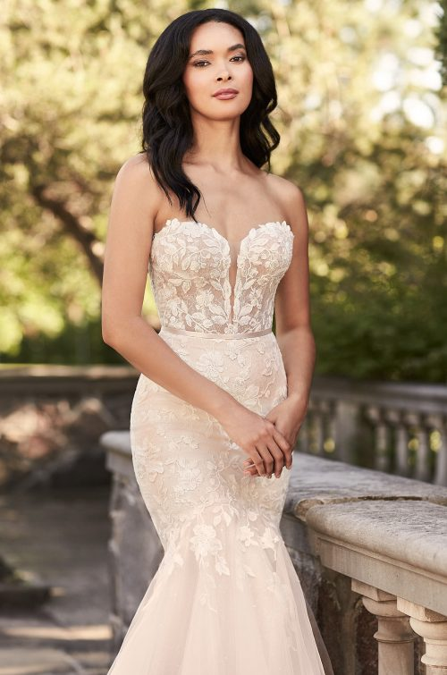Glittering Mermaid Wedding Dress - Style #4925 | Paloma Blanca