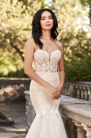 Glittering Mermaid Wedding Dress - Style #4925   Paloma Blanca