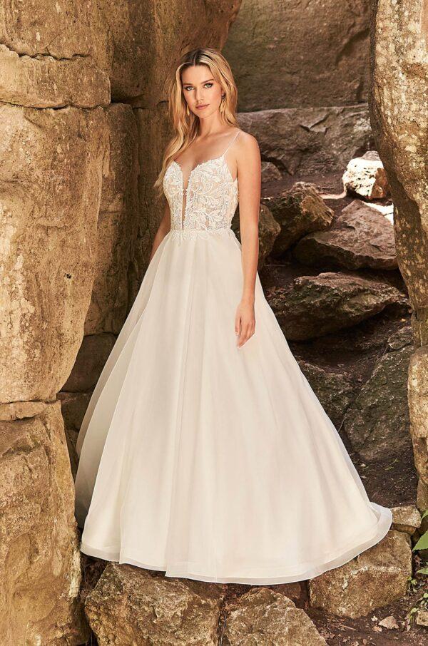 Eye-Catching Wedding Dress - Style #2331 | Mikaella Bridal