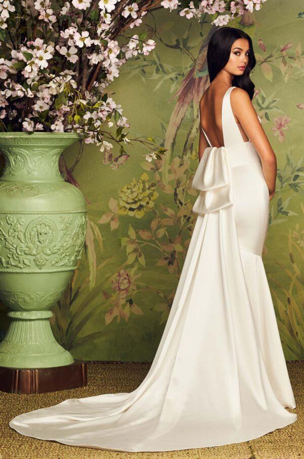 Timeless Two Piece Wedding Dress - Style #4884 | Paloma Blanca