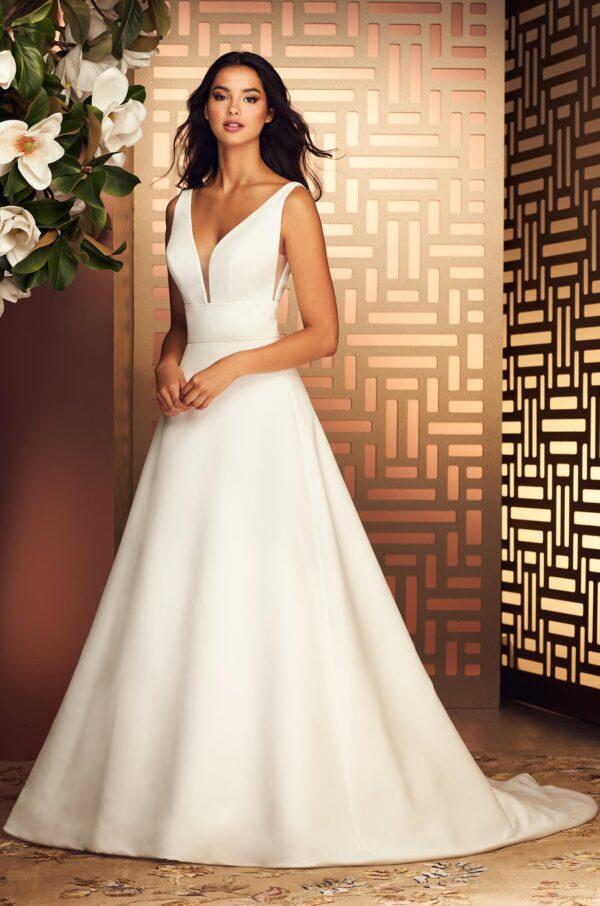 Stylish A-line Wedding Dress - Style #4892 | Paloma Blanca
