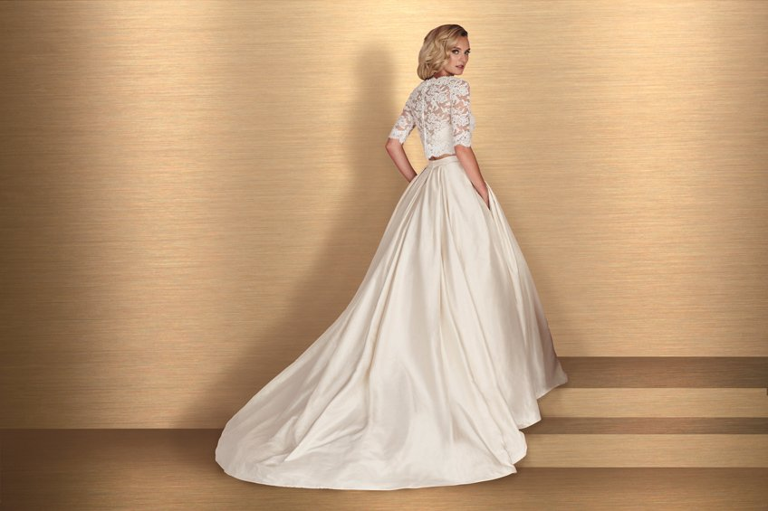 Paloma Blanca Style 4667 Bliss Bridal Boutique Event