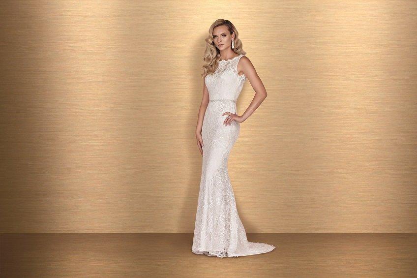 Lace Wedding Dress Paloma Blanca Style 4655