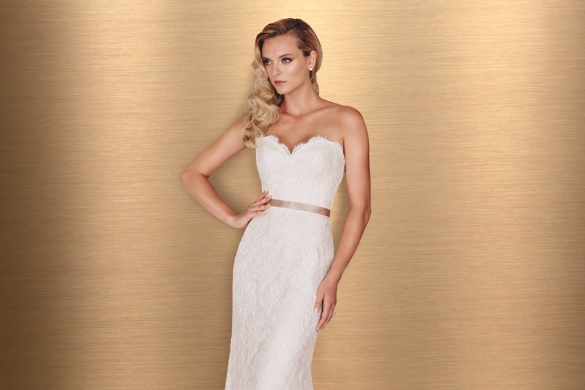 Paloma Blanca Style 4666 Bliss Bridal Boutique Event